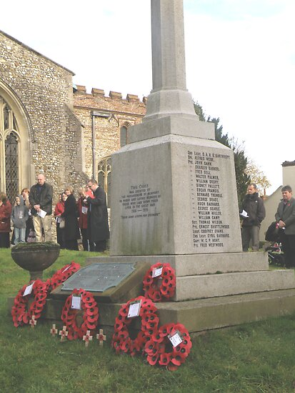 War Memorial - Remembrance Day 2008 by NewportGallery
