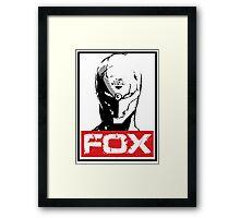 The Fox 02 Framed Print