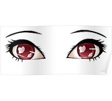 Stylized eyes 6 Poster