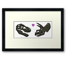 Dinosaur Lovers Framed Print