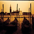 gondolas of venice by zep wernbacher-dundo