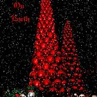Red Christmas Tree by Memaa