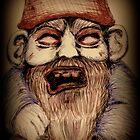 Zombie Gnome desaturated by Hanzibob