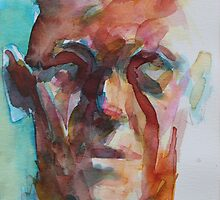 Imaginary Portrait (Ink) by Josh Bowe
