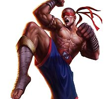 Lee sin (Mauy Thai) by Xeminas