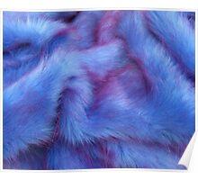 Purple Fur Poster