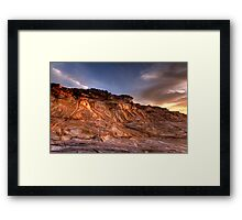 God got style (seventies style!) Framed Print