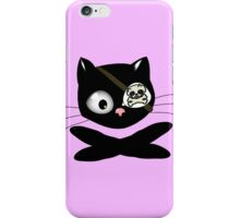 Pirate Kitty with Eye Patch iPhone Case/Skin