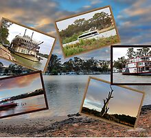 A collage of the Mighty Murray. Mannum by patapping