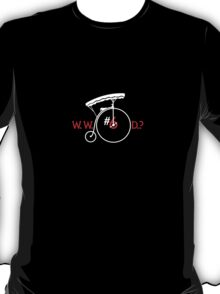 What Would Number Six Do? (dark) T-Shirt