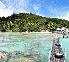 Bora Bora by Adrianphotoart
