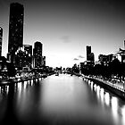 Melbourne City by Ahmad Sabra