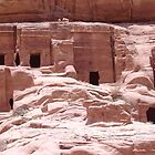 Petra Caves by AlvinBurt
