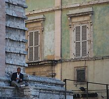 Piece of the Puzzle (portrait in modern contemplation) by matchwood