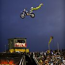 Supercross Action by Bill Fonseca