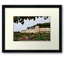 Villandry Castle - Loire Valley - France Framed Print