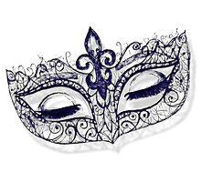 Masquerade Ball Mask by Amanda  Hack
