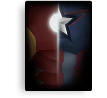 Civil War- Iron Man vs. Cap  Canvas Print