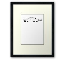 1964 Cadillac Coupe Sixty Two Series Framed Print