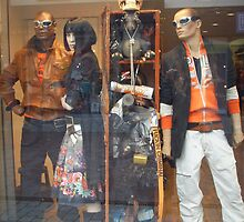WINDOW DRESSED AND DECORATED JEANS/FASHION STORE by natasjabroekers