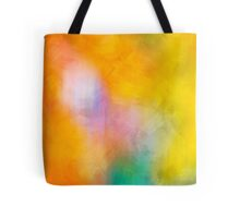 Color Abstract Painting Tote Bag