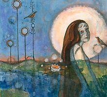 lady of the lake by Leah Piken Kolidas