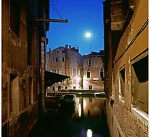 Venice by Moonlight #1 by Mark Ross