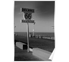 Santa Monica 66 Poster
