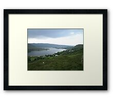 lough Altan  County Donegal Ireland Framed Print