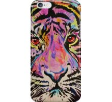 Pop Art Tiger Eyes iPhone Case/Skin