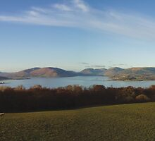 View from Canada Hill, Isle of Bute by artyfifi