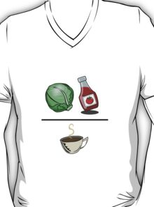 Lettuce Ketchup/Coffee T-Shirt
