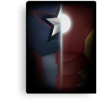 Civil War - Cap vs. Iron Man  Canvas Print