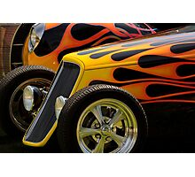 Flamin' Fords Photographic Print