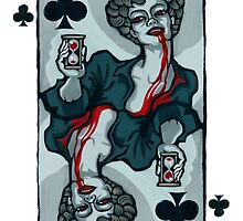 Vampire Queen of Clubs by pixbyr