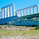 Remains, Temple of Poseidon, Sounion by Priscilla Turner