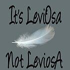 It's LeviOsa, not LeviosA by HannahJill12