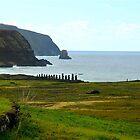 Ahu Tongariki, Easter Island by Maggie Hegarty