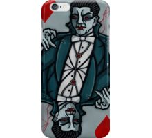 Vampire King of Hearts iPhone Case/Skin