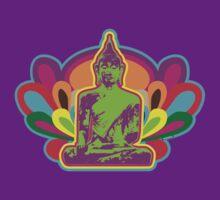 70s Buddha by FredzArt