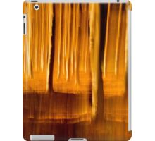 Once upon a time in a pine forest iPad Case/Skin