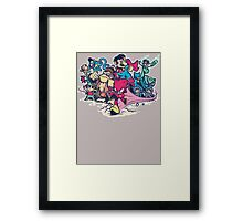 Super Smash League Framed Print