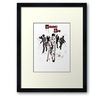 Walking Bad Framed Print