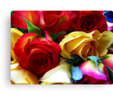 The begining of Love Canvas Print