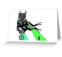 Impractically Designed Robot Greeting Card