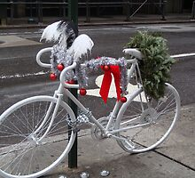 Holiday Ghost Bike by Catherine Palmer