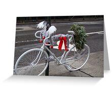 Holiday Ghost Bike Greeting Card
