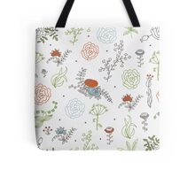 Elegance Seamless pattern with flowers Tote Bag