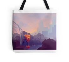 Junkyard Morning Tote Bag