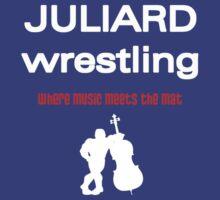 Juliard Wrestling by Mundy Hackett